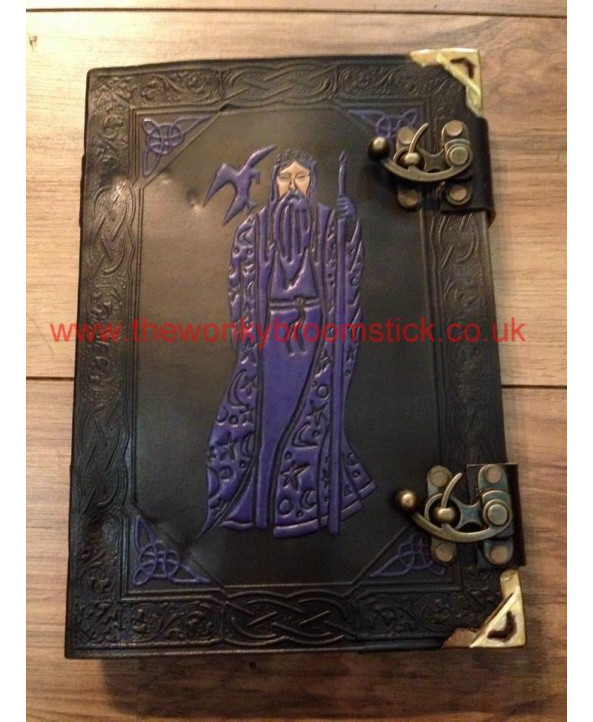 Black & Purple Merlin Book of Shadows