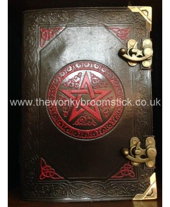 Black & Red Pentacle Book of Shadows