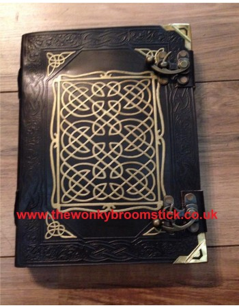 Black & Gold Celtic Book of Shadows