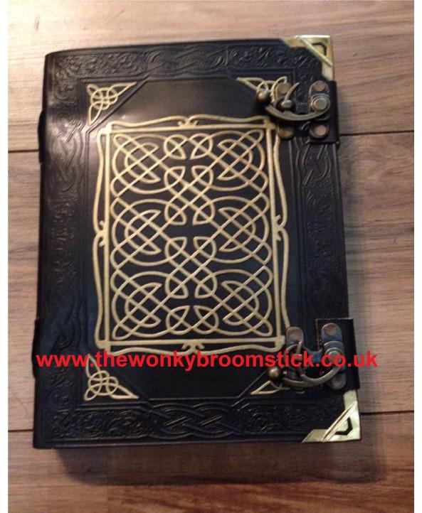 Black & Gold Celtic Book of Shadows