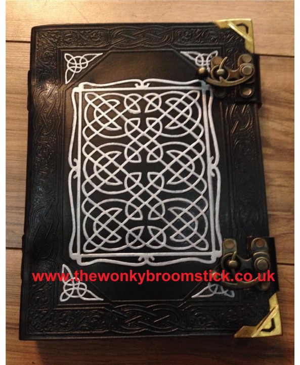 Black & Silver Celtic Book of Shadows