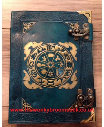 Green Wheel of the Year Book of Shadows