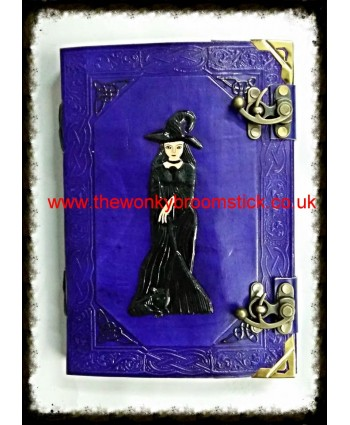 Purple Witch Book of Shadows