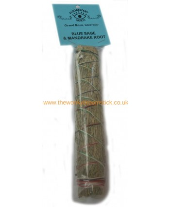 Blue Sage and Mandrake Sage Stick