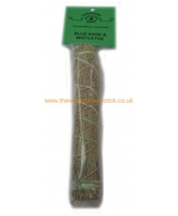 Blue Sage and Mistletoe Sage Stick